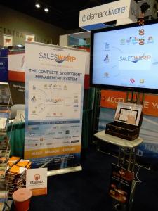 SalesWarp Storefront Management at the 2012 IRCE #03